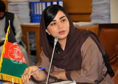 Farzana Kochai, diputada afgana por la circunscripción especial de los nómadas kuchi. Foto de su perfil de Facebook de 2020.