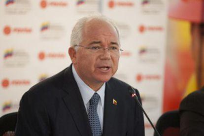 El vicepresidente económico venezolano, Rafael Ramírez