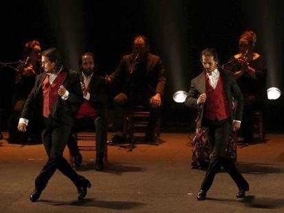Actuación de Farruquito y su familia en Pamplona.