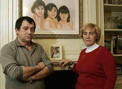 Manuel Blanco y Olga Puig, padres de Eva.