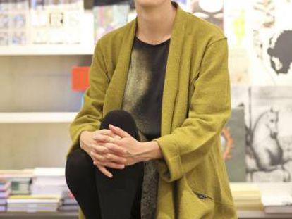 Pilar Reyes, durante una entrevista en Madrid.