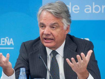 Ignacio Garralda, presidente del grupo Mutua Madrileña, este miércoles en Madrid.