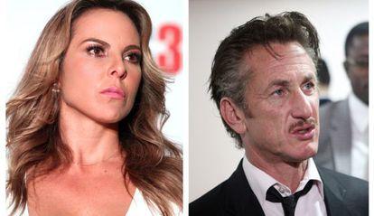 Kate del Castillo y Sean Penn.