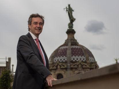 Eduard Torres, presidente de Turisme de Barcelona. / JOAN SÀNCHEZ
