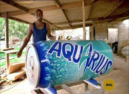El anuncio de Aquarius premiado, de la agencia Sra. Rushmore.