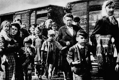 Expulsados de la región de los Sudetes como consecuencia de la represión aliada tras la derrota alemana.