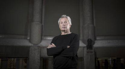 El escritor italiano Alessandro Baricco, fotografiado en Barcelona en 2019.