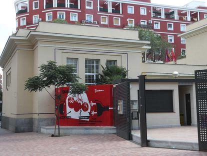 El espacio vecinal de La Gasolinera que ocupaba el número 17 de la calle de Cartagena, el 30 de enero de 2021.