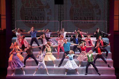 Un momento del musical de 'Grease' que podrá verse en Málaga.