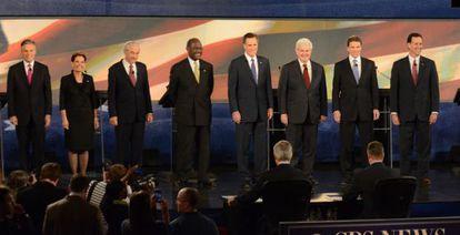 Los aspirantes republicanos a la presidencia de EE UU