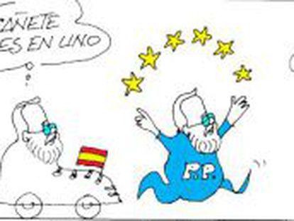 Rajoy apura el relevo de Cañete y prepara su estrategia para las europeas