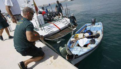 Tres pateras han sido interceptadas en la costa de Alicante.