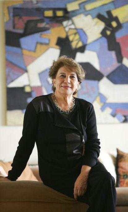 María Cruz Seoane, historiadora del periodismo, en 2004.