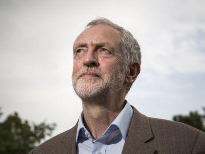 El candidato Jeremy Corbyn.