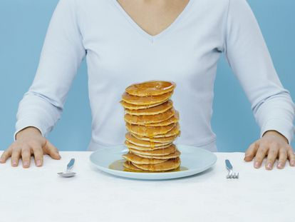 No, perder peso no depende de mi fuerza de voluntad