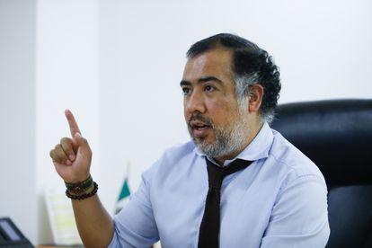 Omar Gómez, en entrevista el año pasado.