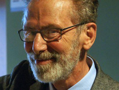 Yves Meyer, retratado el 25 de noviembre en la Universidad Autónoma de Madrid.