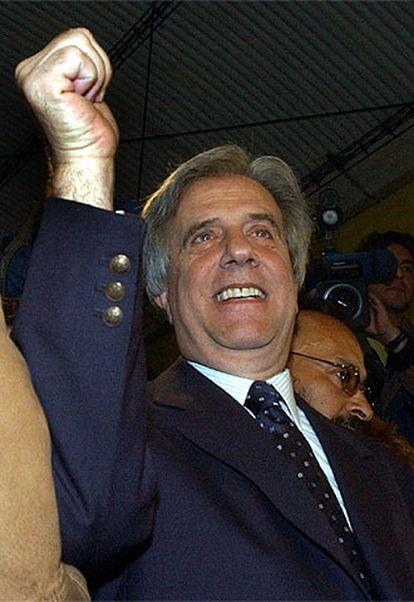 Tabaré Vázquez, presidente electo de Uruguay.