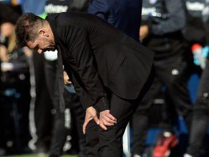 El equipo de Simeone cede un empate en un partido pastoso con la pelota en el que solo en el segundo tiempo entendió cómo romper el orden del equipo de Pellegrino