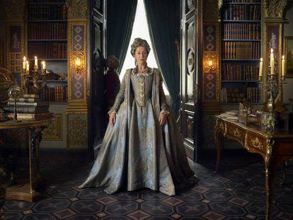 Helen Mirren, como Catalina la Grande en la serie de Sky.