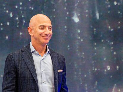 El empresario Jeff Bezos.