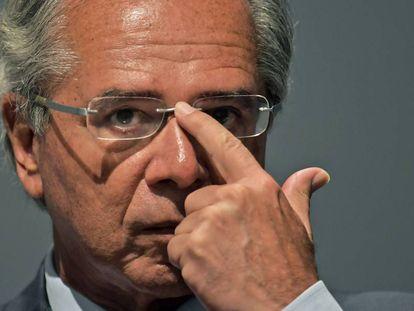 El ministro de Economía brasileño, Paulo Guedes.