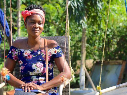 Afrodescendiente de Honduras.