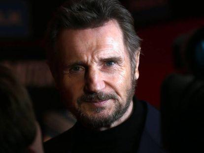 El actor Liam Neeson, en Dublín en 2018.