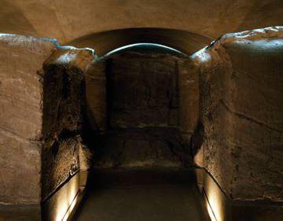 Templo de Ellesiya en el Museo Egipcio de Turín, Italia.