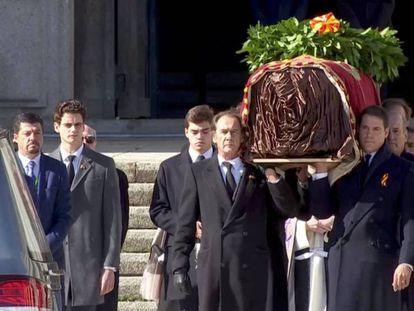 En vídeo, así fue la exhumación de Franco.