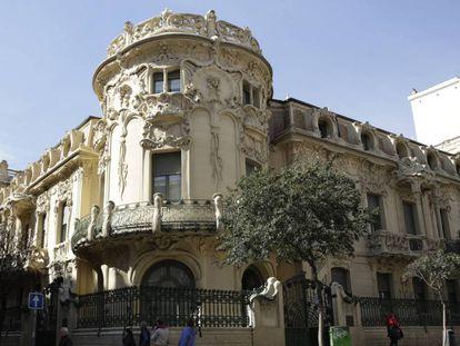 Edificio sede de la SGAE, en Madrid.