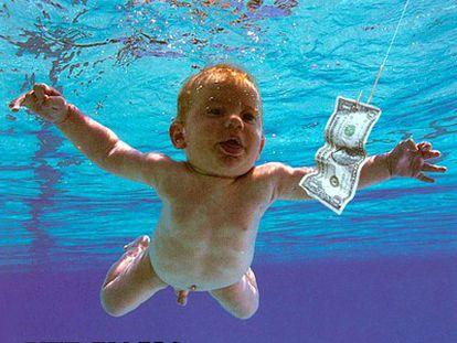 La portada del álbum de Nirvana 'Nevermind'.