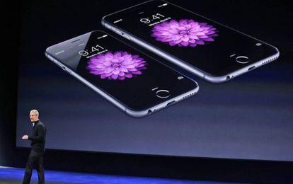 Presentación el iPhone 6 en marzo de 2015.