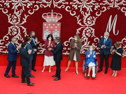 Toma de posesión de los consejeros del Gobierno de la Comunidad de Madrid, presidido por Isabel Díaz Ayuso.