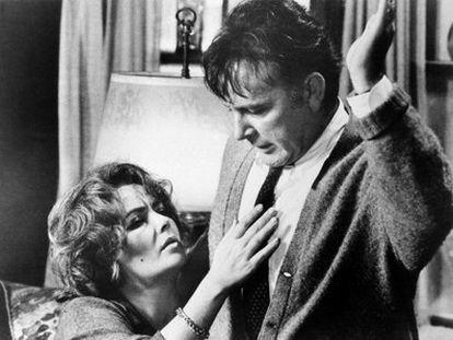 Elizabeth Taylor y Richard Burton, en una imagen de '¿Quién teme a Virginia Woolf?' (1966).