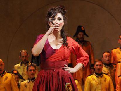 María José Montiel interpreta a la protagonista de 'Carmen'.