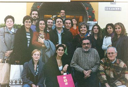 Proteo's team in the 90's. Francisco Puche is crouched, first from the right.