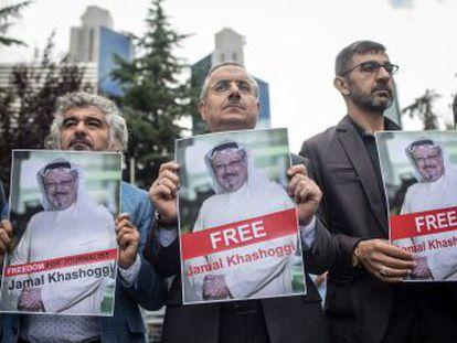 La sentencia exime a Saud al Qahtani, mano derecha del príncipe heredero, Mohamed Bin Salmán, con quien el periodista era crítico