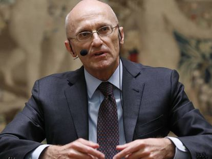 Andrea Enria, responsable de la supervisión bancaria del BCE.