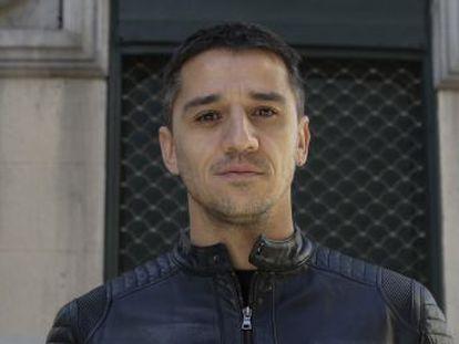 El actor y humorista, exfutbolista profesional, es uno de los protagonistas de la serie  Gigantes