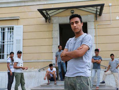 Jan Muhammad,de 22 años y ex soldado del ejército de Afganistán, llegó a Gorizia a principios de año tras un viaje que duró tres meses.