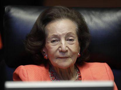 La senadora mexicana Ifigenia Martínez.