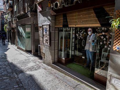 La librería Hojablanca de Toledo.