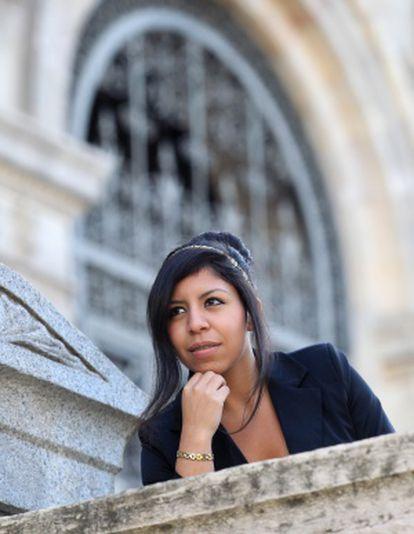 La ecuatoriana Tamara Salamea.