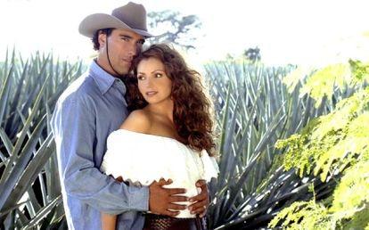 El culebrón mexicano 'Destilando amor', con  Angélica Rivera.