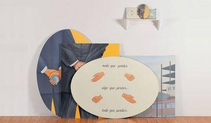 Una obra del artista Francis Alÿs que compone la muestra