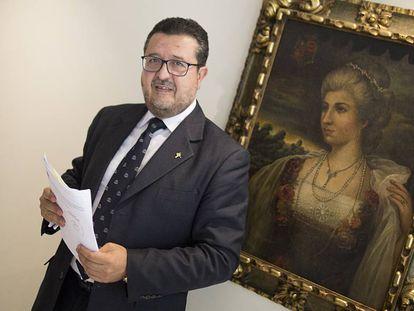 El exlíder de Vox en Andalucía y juez, Francisco Serrano.