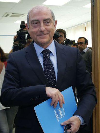 Alfonso Novo, responsable del PP en el Ayuntamiento de Valencia.