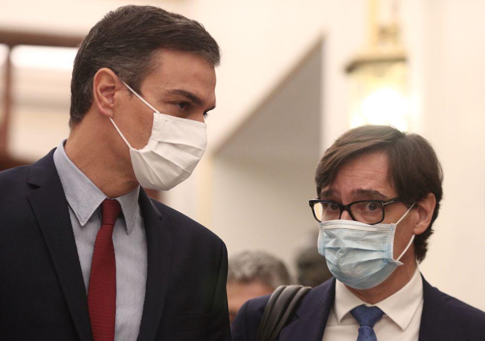 Sánchez cede y comparecerá en el Congreso cada dos meses para sacar adelante el estado de alarma   España