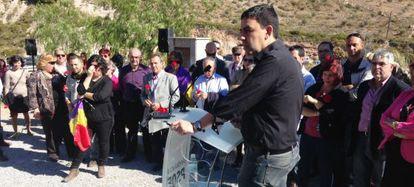 Mario Jiménez, en el acto celebrado este viernes en Granada.